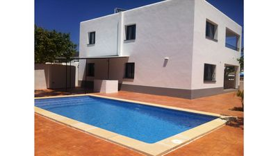 Photo for 8 bedroom Villa, sleeps 12 with Pool, Air Con, FREE WiFi and Walk to Shops