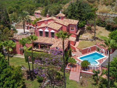 Photo for Luxury mansion 34121849 Vega del Colorado, La Quinta Golf, Marbella, a gated community with 24h security, 12 bedrooms, sleeps up to 34