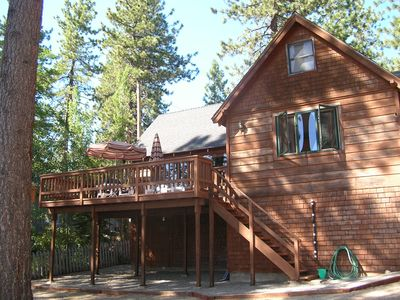 Photo for Tahoe Lakefront / Beach Access in Cozy Cabin W/ Modern Conveniences.