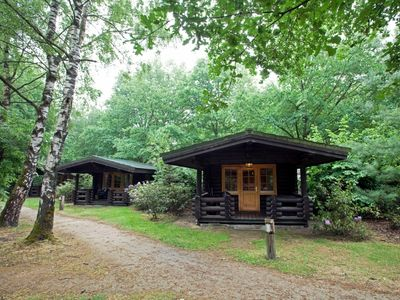 Photo for 2-person loghome in the holiday park Landal Duc de Brabant - rural location