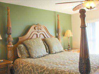 Live like a king in this master bedroom!