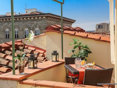 Photo for Apartments Florence - Piazza Signoria Terrace - Breathtaking View