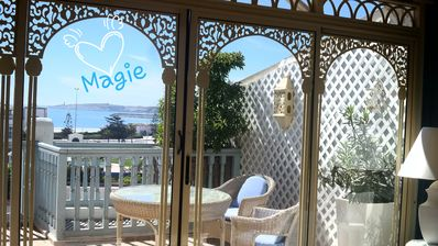 Photo for Lotus-Essaouira .com SEA VIEW - PRIVATE TERRACE - close to BEACH