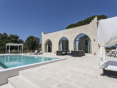 "Photo for A "" Mini Castle"" with pool amongst olive groves at the heart of Puglia"