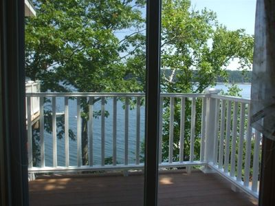 Private Balcony from Master Bedroom