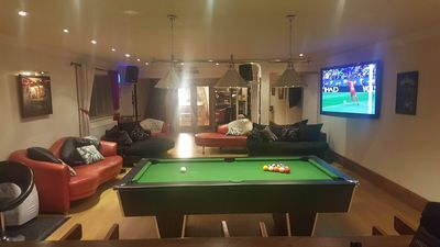 Photo for Luxury house in Newport plenty to keep guests entertained cinema and pool table