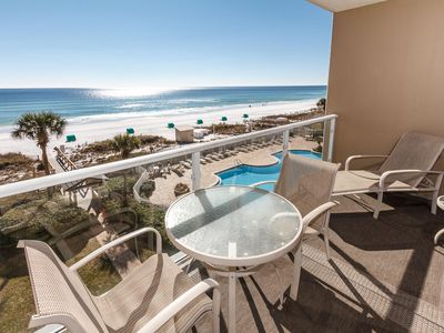 Photo for Sterling Sands-Heart of Destin!  Free Beach Ser-  Amazing- Gulf Front Views!