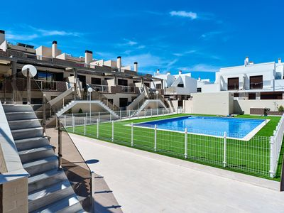 Photo for Duplex with 3 bedrooms, 2 bathrooms, balcony and roof terrace!