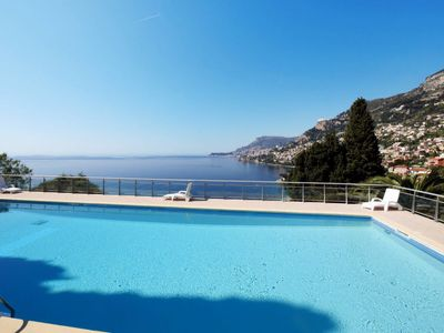 Photo for 2BR Apartment Vacation Rental in Roquebrune Cap Martin