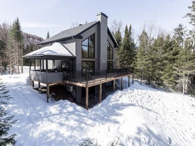 Photo for The Cliff CHALET brand new !! Exceptional view! Private domain !!