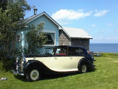 At the Blue Cottage with one of our Royces in 2012
