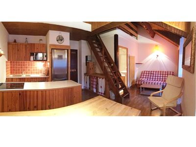 Photo for Duplex resort center 2 Alpes.