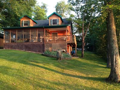 Photo for 3BR Cabin Vacation Rental in Birchwood, Wisconsin