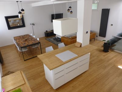 Photo for Brest Loft T5, with Jacuzzi