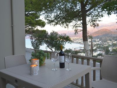 Photo for Blue View Villas (#1) Spectacular sea views, private and relaxing setting