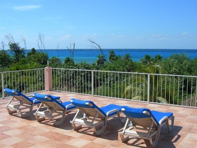 Photo for Villa Tango Del Mar-Luxury Beachfront Community Home Near Dive Sites