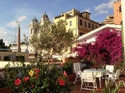 Roofterrace Apartment Spanish steps