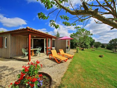 Photo for 2BR Chalet Vacation Rental in Salignac-Eyvigues, Nouvelle-Aquitaine