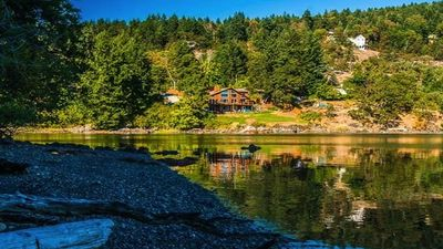 Photo for 'Salish Sanctuary' Luxury Oceanfront Home Nanoose Bay Vancouver Island