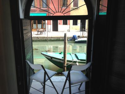 Photo for Corallo Holidays: you'll love the patio on the canal