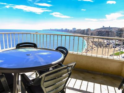 Photo for Ref: 222 - 2 bedroom apartment facing the beach on 8th floor!