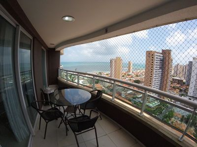 Photo for Beautiful Apartment Sea View 2002 Iracema Beach