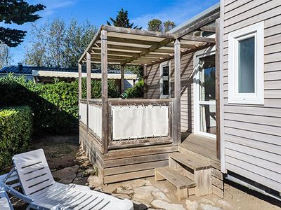 Photo for Camping Les Dunes ***** - Mobile home Classic Plus 3 rooms 4 persons