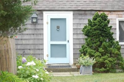 Montauk Beach House Front Door