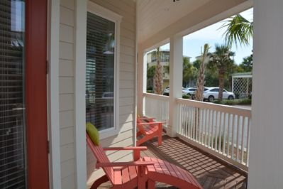 Relaxing, spacious decks throughout the home.
