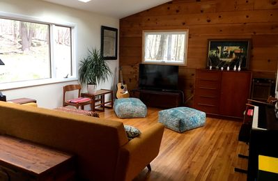 Photo for Woodstock Mid-Century Home Secluded in Byrdcliffe