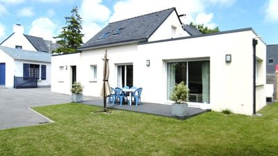 Photo for 5-room house 8 people, near the port of St Jacques.