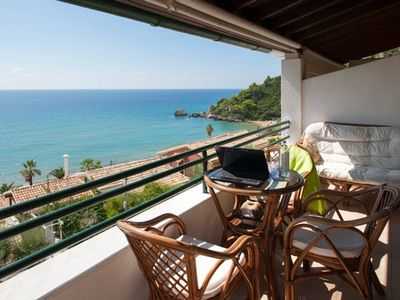 Photo for 1BR Standard | Glyfada Beach Sea View Apartments