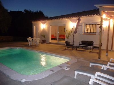 Photo for Beautiful villa near Calvi on private land with private pool