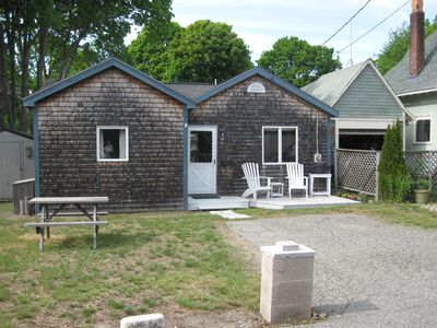 Photo for Cozy home on quiet residential street on the outer edge of Bar Harbor.