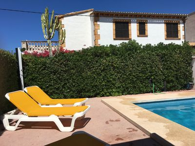 Photo for Mallorca / Artà: Townhouse with pool for 8 pers, to the sea 1 min ...