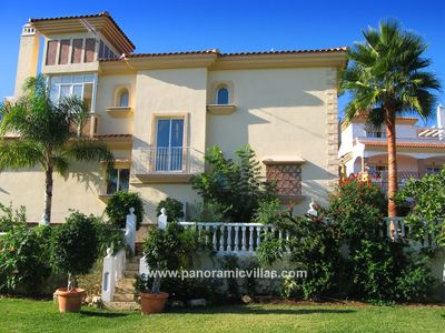 Photo for 4 bedroom Villa, sleeps 8 in Mijas with Pool, Air Con and WiFi