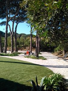Photo for Villa on a large park Arborea St Tropez near the beach and town center