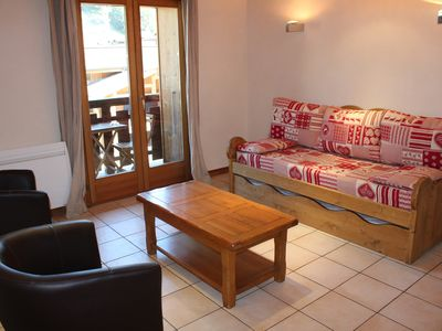 Photo for Aprt. Azalees 5 - Apartment with view centrally located and foot steps to slopes and lifts