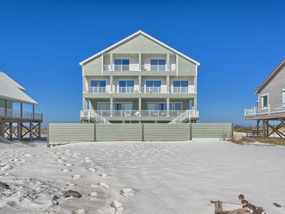 Photo for Beach Castle E Fort Morgan Gulf Front Vacation House Rental - Meyer Vacation Rentals
