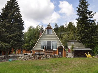 Photo for Fun family rental on Heffley Lake, 10 minutes from Sun Peaks Resort