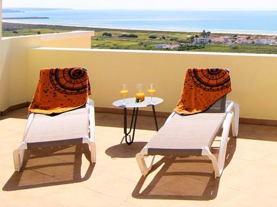 Photo for Luxury beach penthouse with best views in Lagos and lots of space