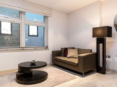 Photo for Spacious Farringdon Serviced Flat apartment in Islington with WiFi, balcony & lift.