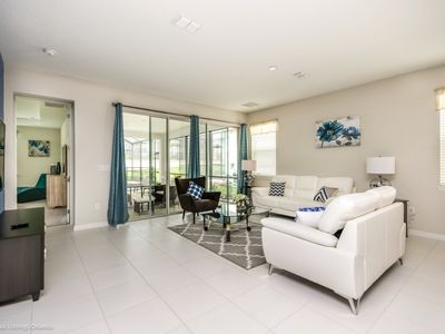Photo for ⚜ Brand NEW!⚜ Luxury 7 Bedroom Home Near Disney FREE Resort Amenities📍