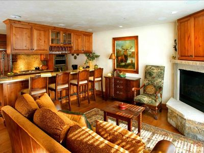 Photo for Fabulous Ajax View #421 - 3 BR/2 BA - Walk to Town and Lifts