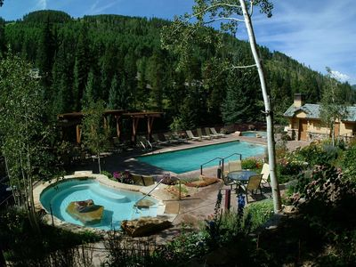 Photo for Charming, Cozy Suite with Hot Tub Access | FREE Shuttle, Rentals and More!