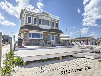 Photo for Oceanfront Monterey Beach, Lavallette, NJ. 5 Bedroom 4.5 Bath