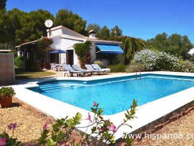 Photo for Villa for 6 people with private pool in Javea on the Costa Blanca