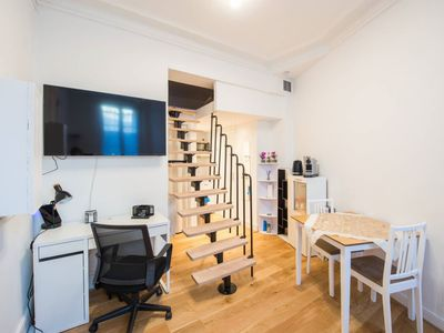 Photo for Cozy studio completely renovated and comfortable. Ideal for visiting Paris.