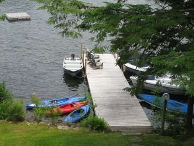 Family friendly lakefront home