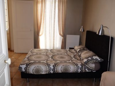 Photo for Comfortable  air conditioning flat, well located, 400 m from beach